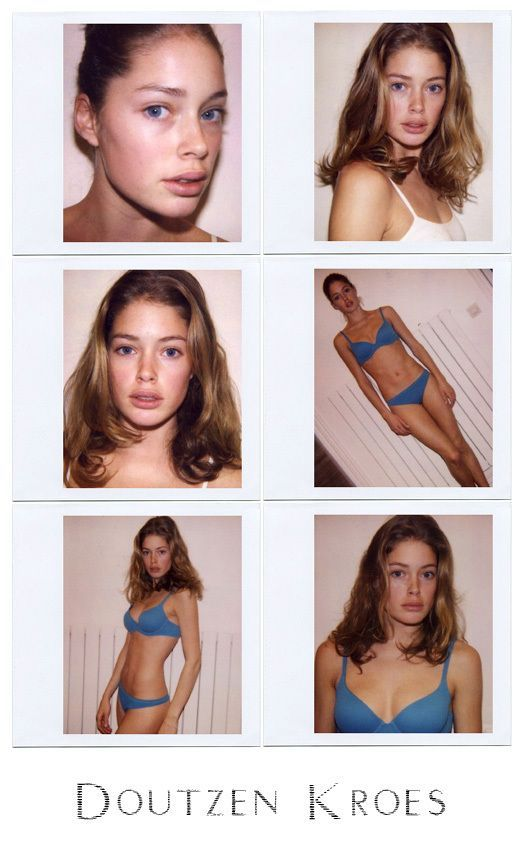 Doutzen Kroes youngbody, victoria secret, style, loreal, makeup, young, photosho...