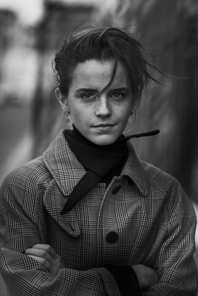 INTERVIEW MAGAZINE - EMMA WATSON - Paris, 2017 - Peter Lindbergh