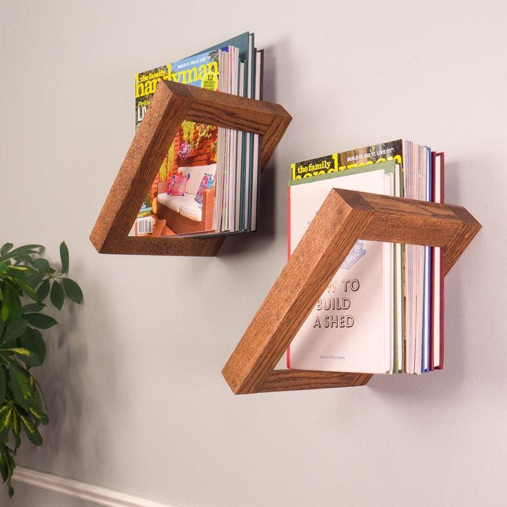 Saturday Morning Workshop: How To Build Floating Bookshelves #Bookshelves #m ...