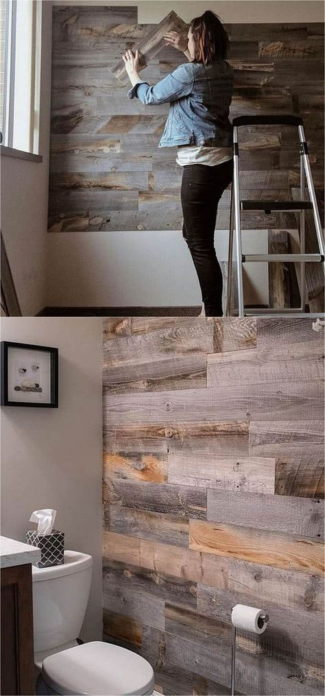 30 Best DIY Shiplap Wall and Pallet Wall Tutorials and Nice Ideas for Anyone ...