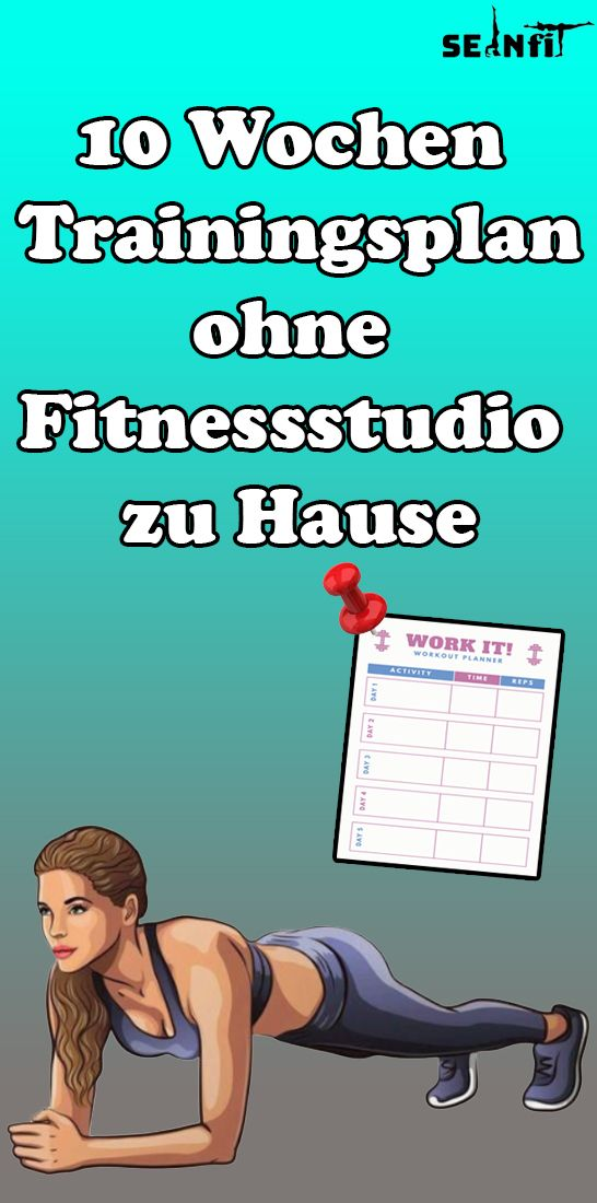 10 weeks training plan without a gym at home