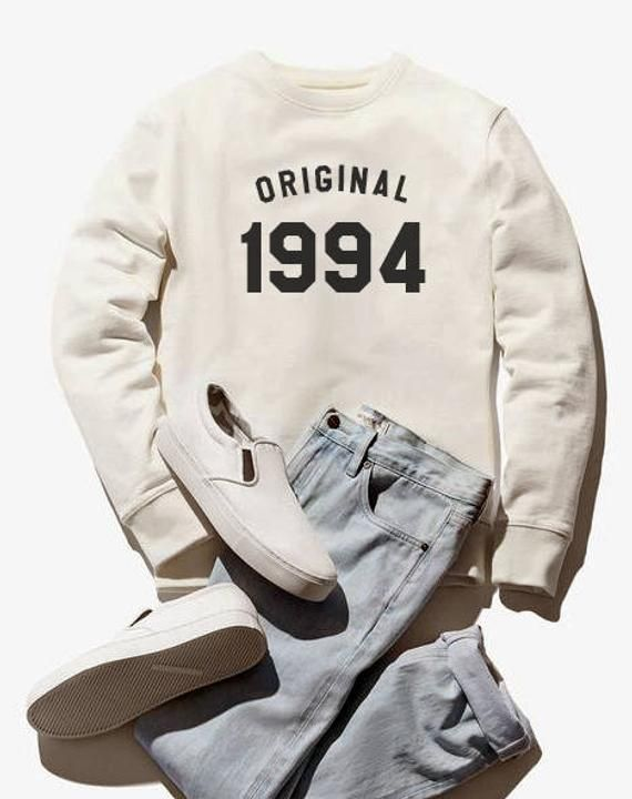 24th birthday for gift sweatshirt 1994 sweater graphic tee shirt pullover sweats...