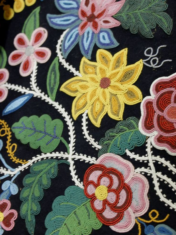 Ojibwe / Northeast Woodlands beadwork in the National Museum of the American Ind...