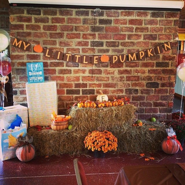 My Little Pumpkin Baby Shower #FallBabyShower