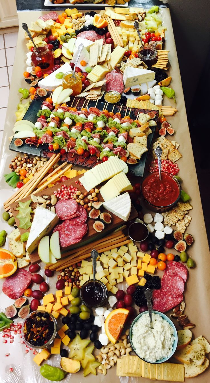 #cheese platter #cheese plate #delicious # fruit and cheese # meat and cheese #w...