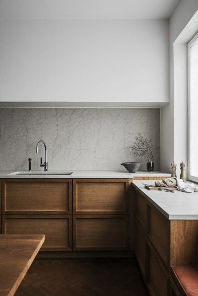 These minimalist kitchen concepts are equal parts calm as well as stylish. Locat...