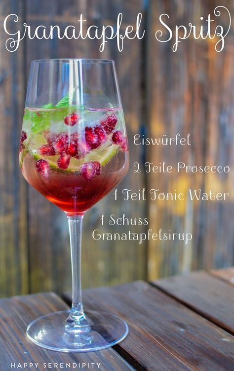 pomegranate splash, summer drink, recipe for a delicious summer drink, from hap ...