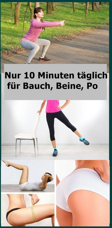 Only 10 minutes daily for stomach, legs, butt | njuskam!