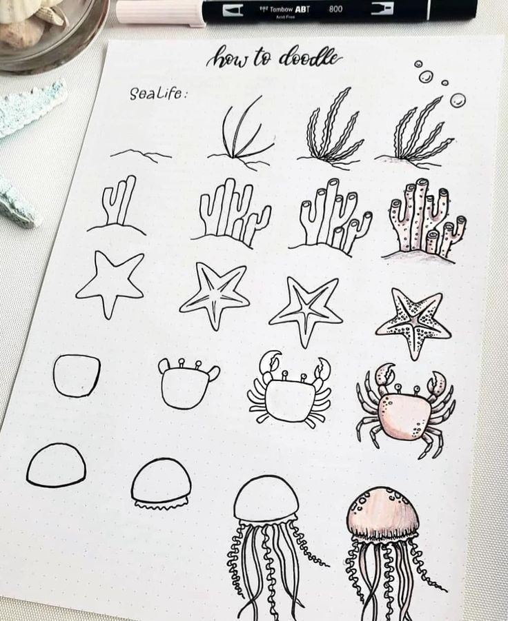 60 How to Doodle Tutorials for Your Bullet Journal - #Bullet #Doodle #Journal #l...