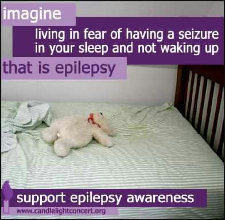 Support Epilepsy Awareness.  My son Tres has severe epilepsy and every breath is...