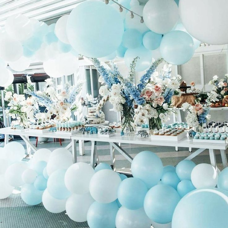 """Stunning Baby Shower Inspo 😍🎉 on Instagram: """"Who says planning a boy bab..."""