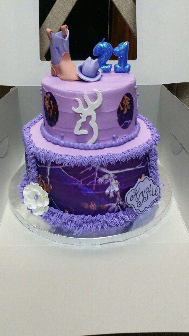 23+ Excellent Picture of Country Birthday Cakes . Country Birthday Cakes Purple ...