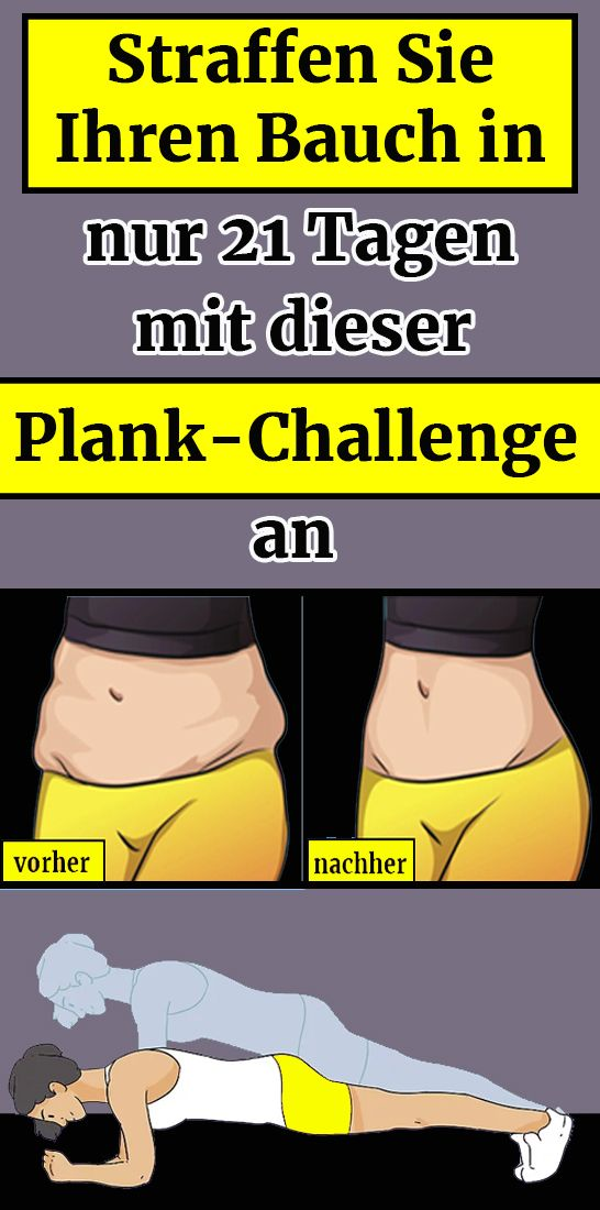 Tighten your stomach in just 21 days with this Plank Challenge