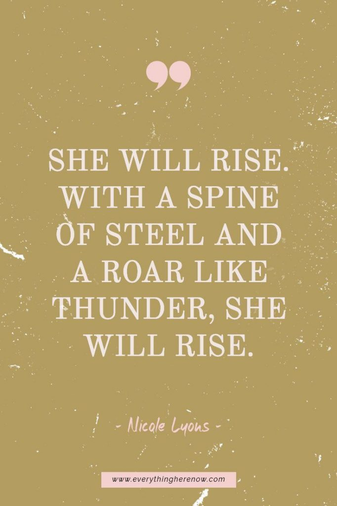 Determined Woman Quotes (+ 5 FREE wallpapers