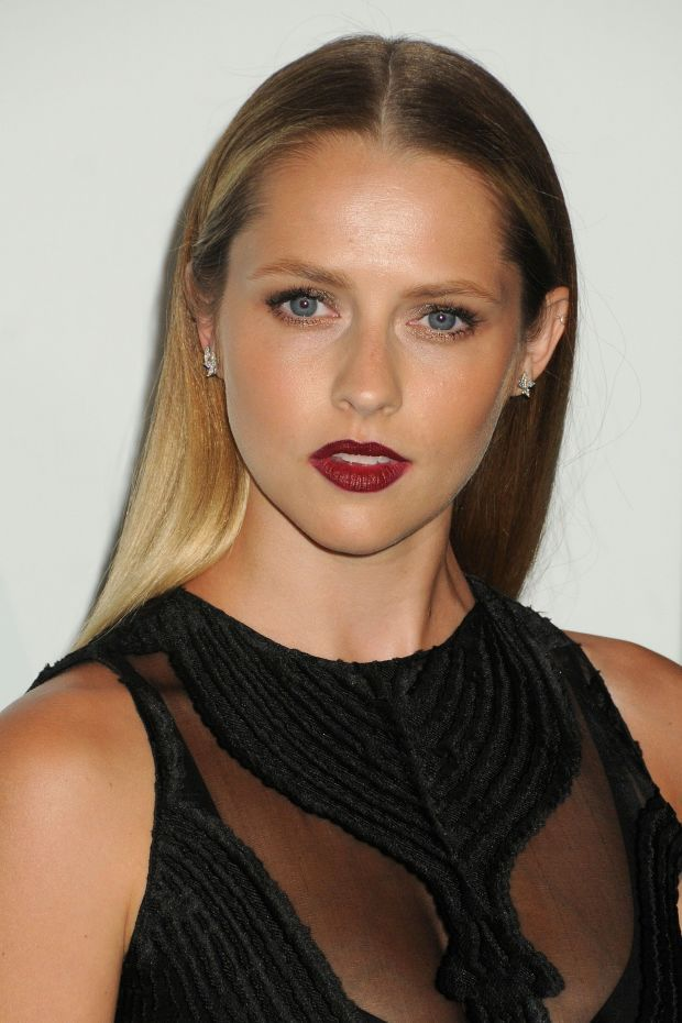 Teresa Palmer at the 2015 Women in Film Crystal + Lucy Awards. beautyeditor.ca/....