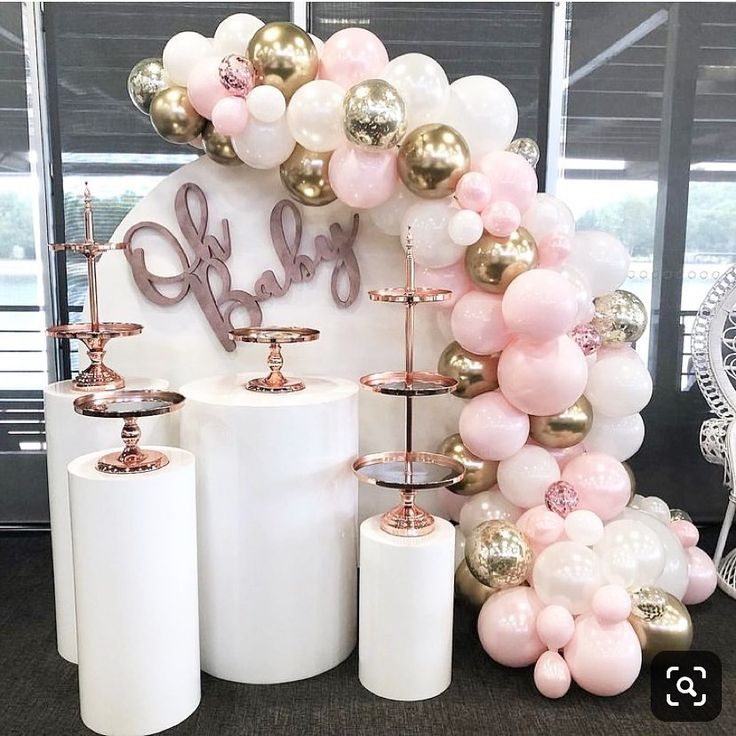 "Stunning Baby Shower Inspo 😍🎉 on Instagram: ""Oh baby!! 💖 • • Phot..."