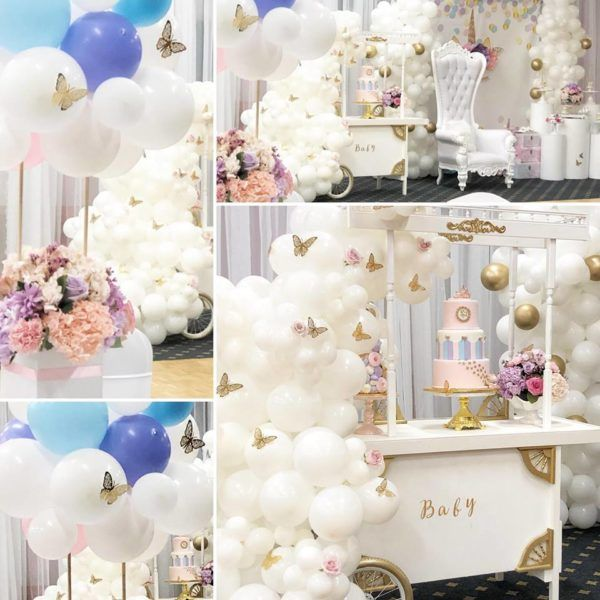 Butterfly and Unicorn Baby Shower - Baby Shower Ideas - Themes - Games