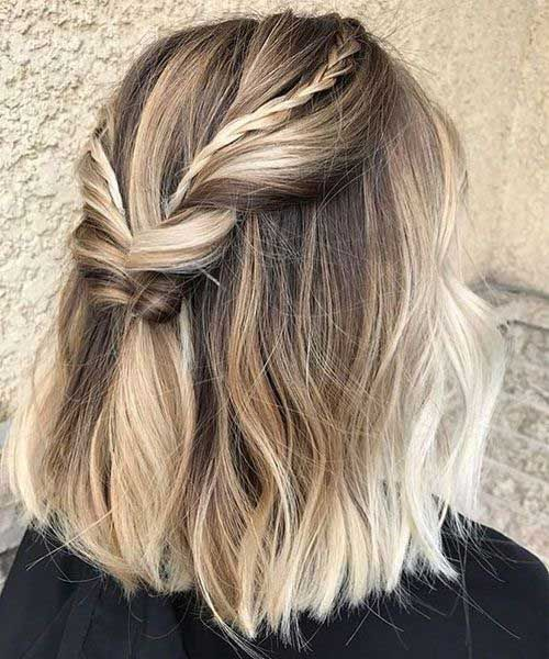 Good looking braided short hairstyles #looking #slaughters #braided #k ...
