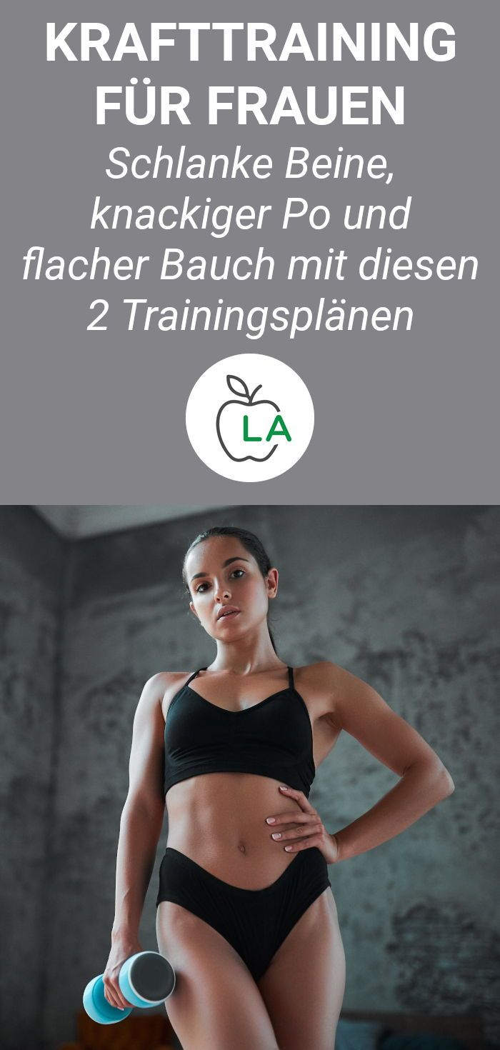 When women do weight training, in the gym with weights or with home m ...