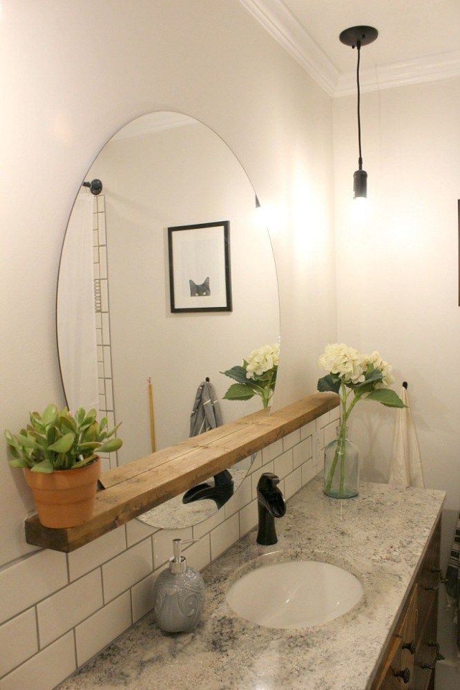 Do you have enough of your simple and old-looking bathroom? Updating ...