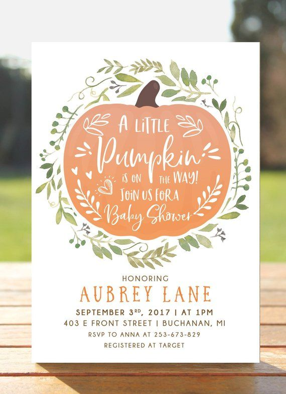 DIY Printable Baby Shower Invitation This listing includes 1 personalized printa...