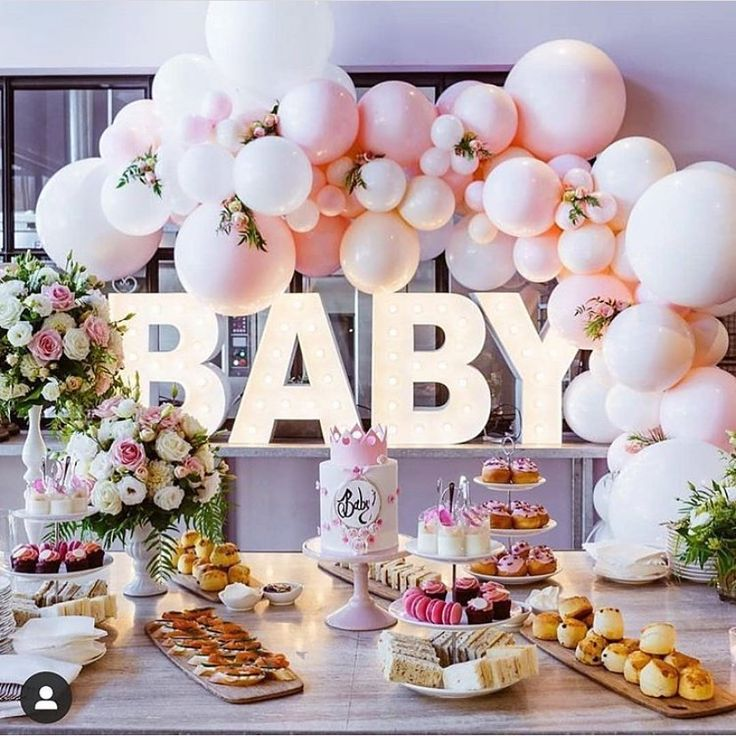 "Stunning Baby Shower Inspo 😍🎉 on Instagram: ""Baby shower envy!! 💕💕..."