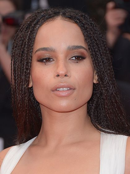 Celebrity Beauty Looks of 2015 - Zoe Kravitz's dotted eyeliner at the Cannes Fil...