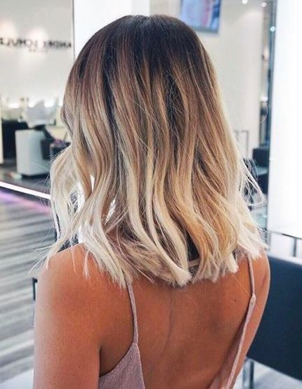 Ideas to Get Blond - Short Frozen Balayage Ideas to Get Blond - ...