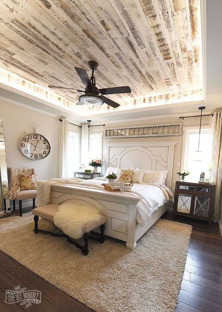 Our Modern French Country Master Bedroom - One Room Challenge Reveal We are fina...