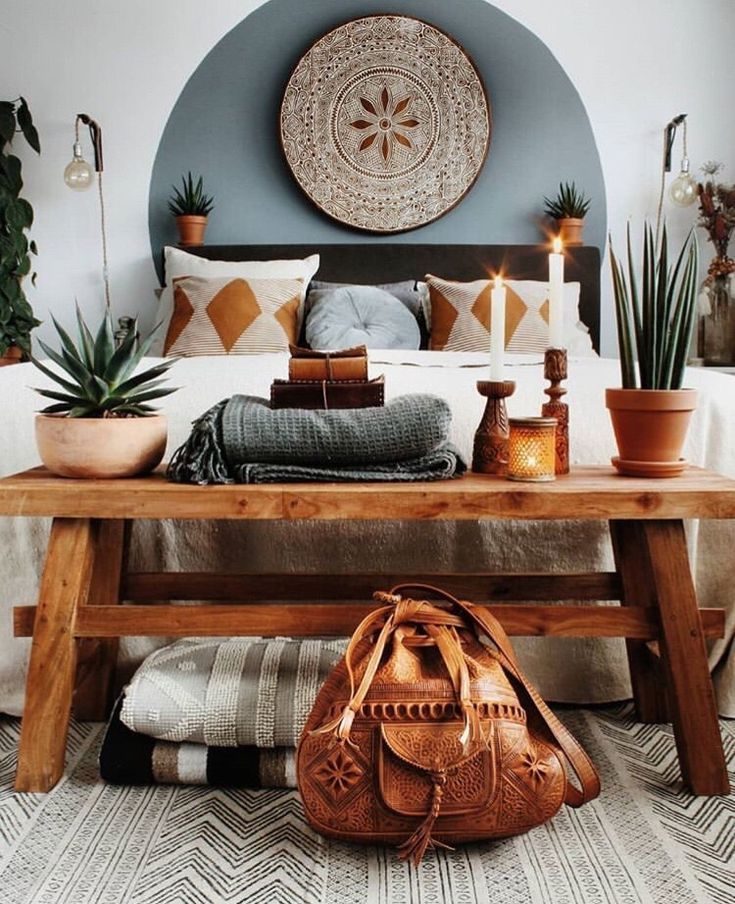 Beautiful boho bedroom #bohodecor #bohemiandecor #bedroom #bedroomdecor | Hau ...