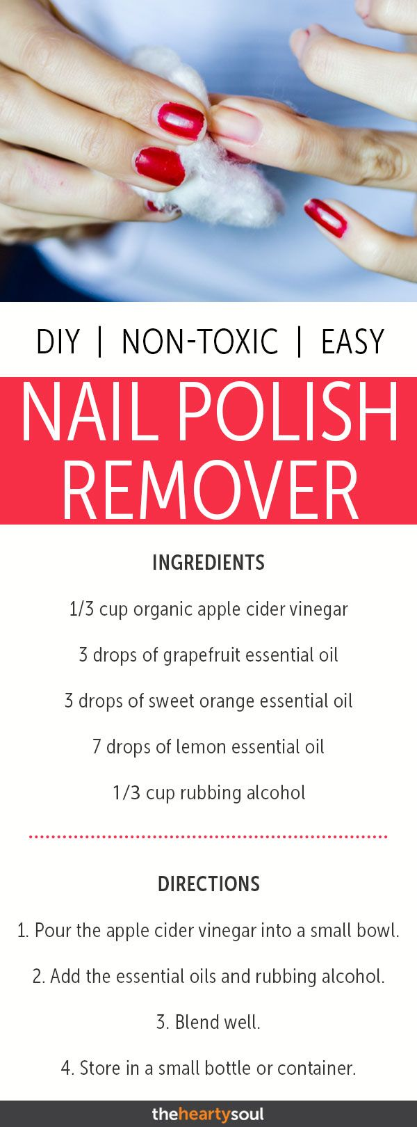 How to Make Non-Toxic Nail Polish Remover with Grapefruit, Orange, and Lemon Oil...