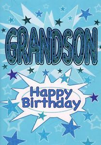 Happy Birthday Wishes for Grandson | Happy Birthday Grandson