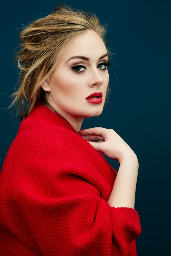 Adele for TIME Magazine, there is also a great video of her made by Vogue: www.y...