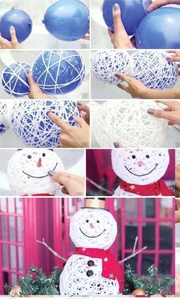 Legend 50 Best DIY Snowman Christmas Decoration Ideas I Love Pink #be ...