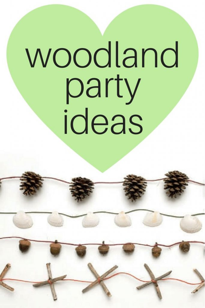 Popular woodland forest animals baby shower ideas - or any woodland-themed party...