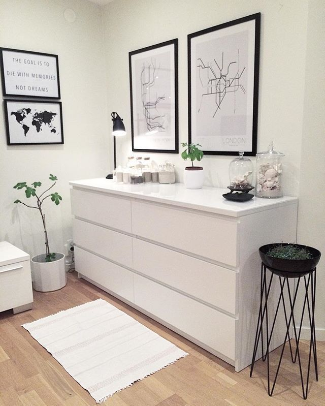 #ikea - ikeakartal.com - PAX cabinets are not just for the bedroom ...