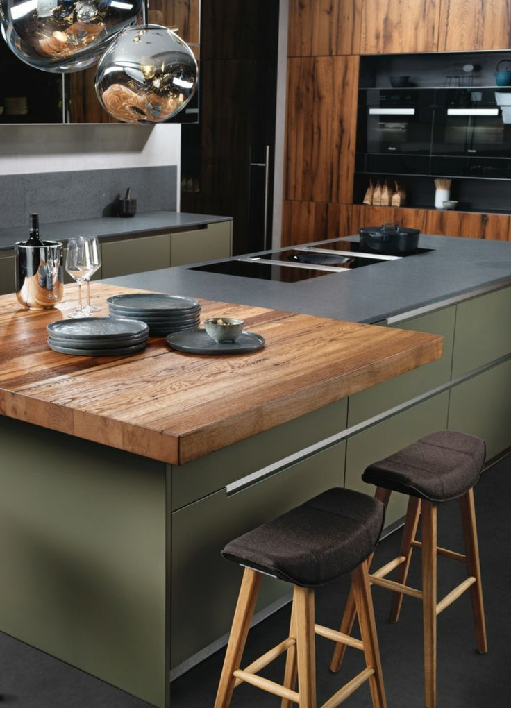 mint green, trend color, kitchen trend, trend, kitchen, wood, wood countertop, ru ...