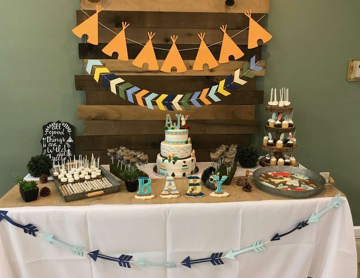 "Woodland Adventure / Baby Shower ""AJ's Woodland Adventure "" 