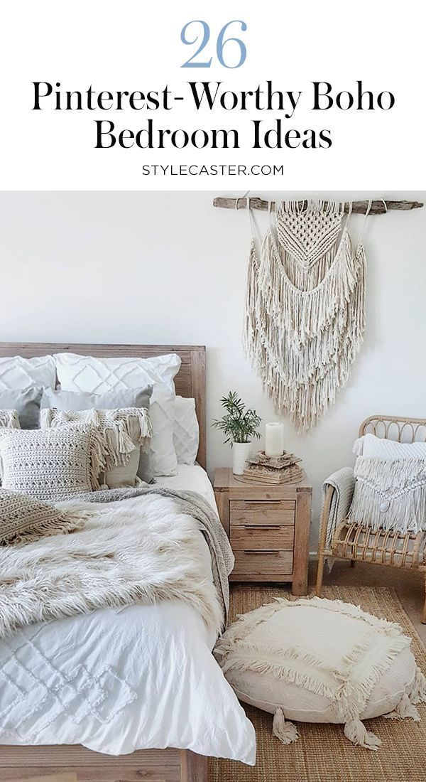 STYLECASTER | Boho bedroom decor | Boho Bedroom Inspiration | Boho shoe ...