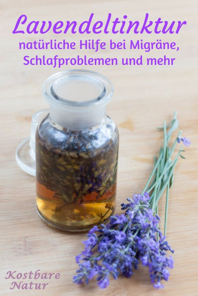 The purple flowers of lavender with their intense scent not only smell good, ...