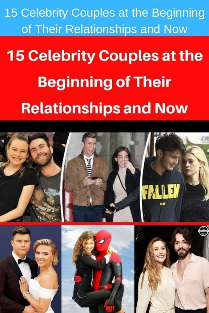 15 #Celebrity #Couples #at #the #Beginning #of #Their #Relationships #and #Now