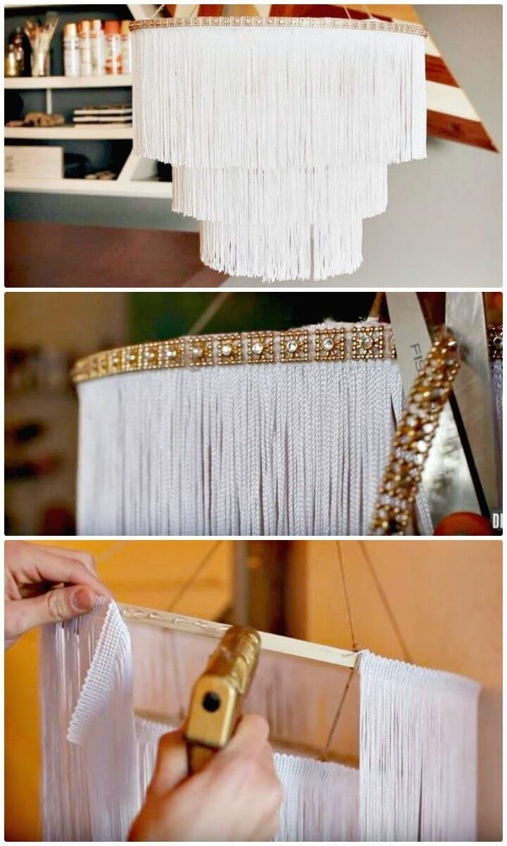 60 Simple DIY Chandelier Ideas That Will Beautify Your Home - DIY & Home Decor ...
