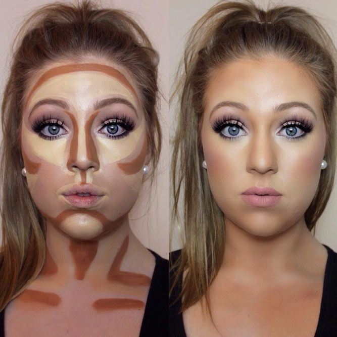 Simple Contouring for Beginners Image 1 - # beginner #image #simple #fuer # ...