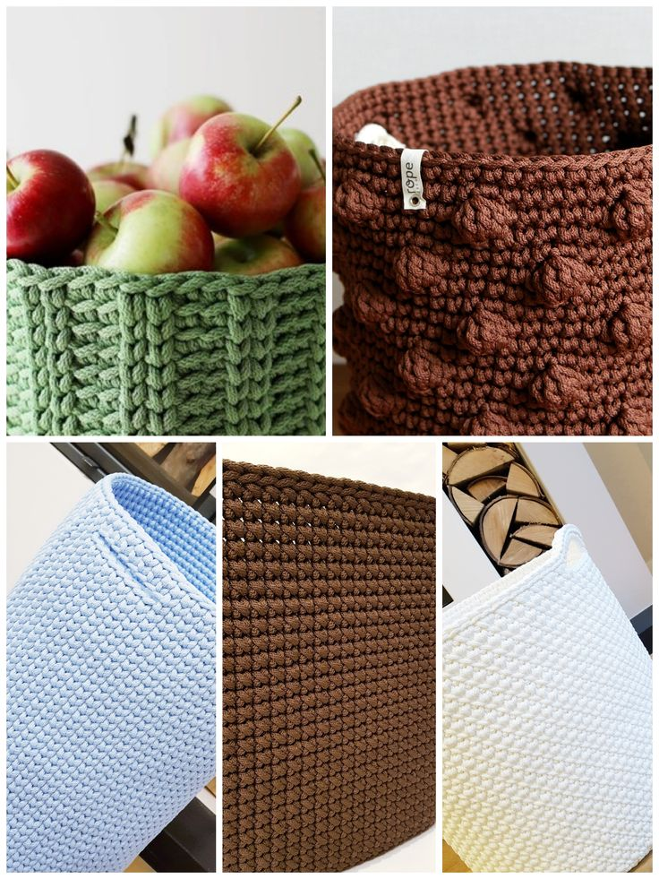 Nursery room basket patterns samples, Large baby room storage baskets ideas, kids room decor element
