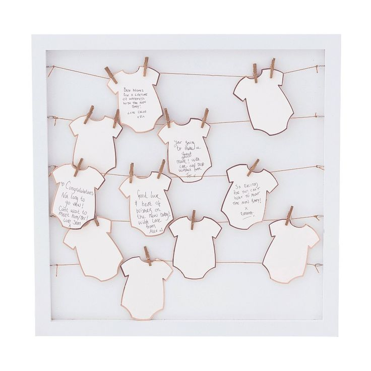 Peg And String Hanging Frame - Ginger Ray, Multi-Colored
