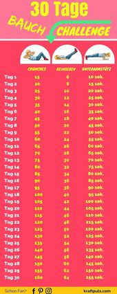 30-Day Abdominal Challenge: Without Equipment with Plan for Flat Belly - # 30Days #Bauc ...