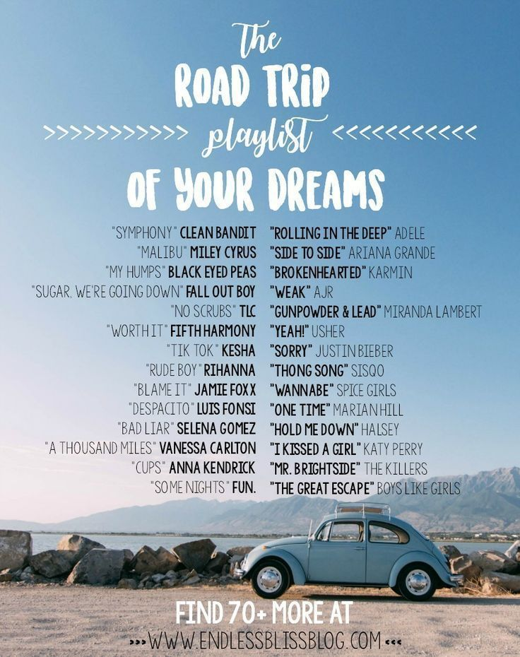 The Road Trip Playlist of your dreams # your #play ... - #the # your #play #player ...
