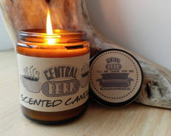 Central Perk Candle Friends TV Show Gift Coffee Candle Central Perk Sign Central...
