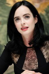 Krysten Ritter at the 2015 press conference for 'Jessica Jones'. beautyeditor.ca...