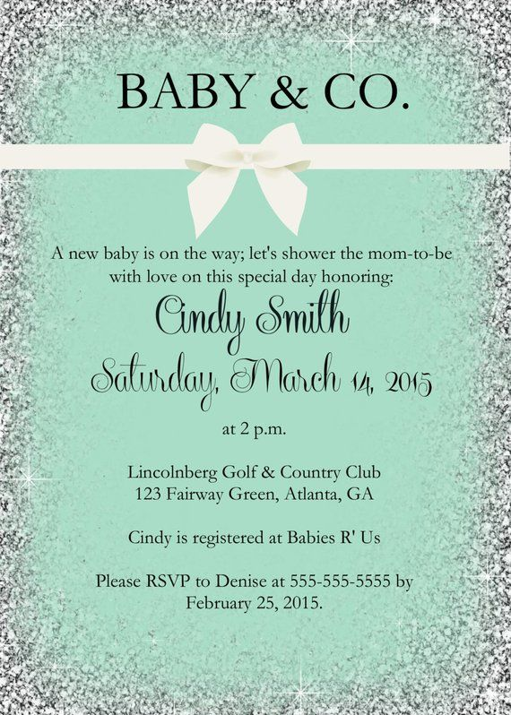 Printable Baby and Co baby shower/ Baby Shower Invitation/ | Etsy